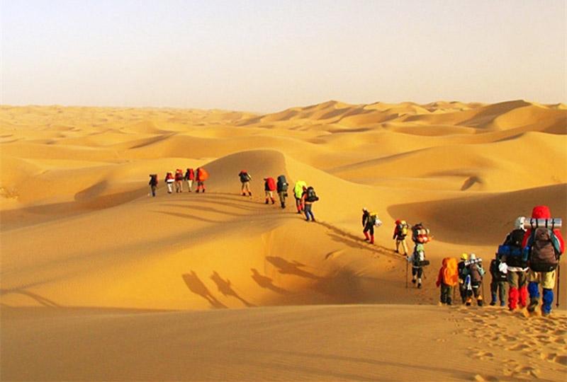 行走的力量-庫布齊沙漠穿越圖片